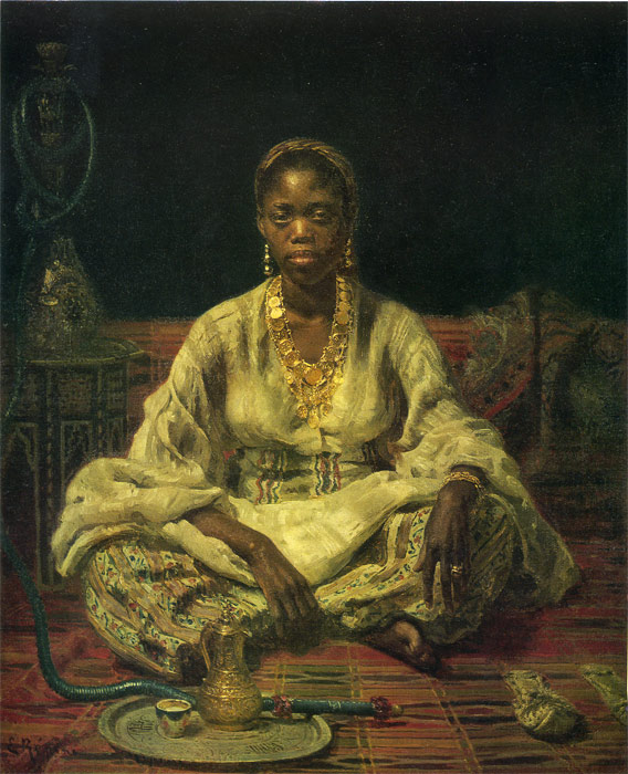 Repin Oil Painting Reproductions- Neger woman