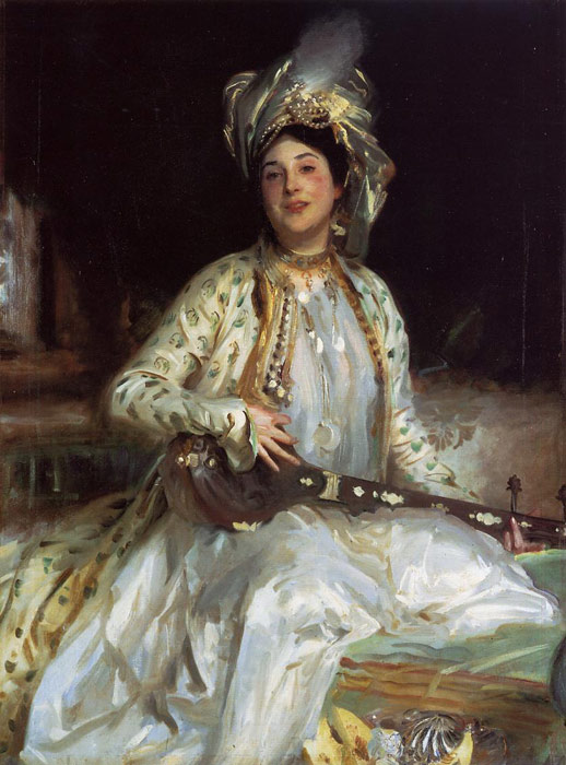 Sargent Oil Painting Reproductions - Almina, Daughter of Asher Wertheimer