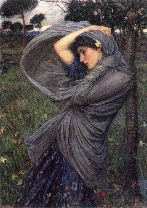 Waterhouse Oil Painting Reproductions - Boreas