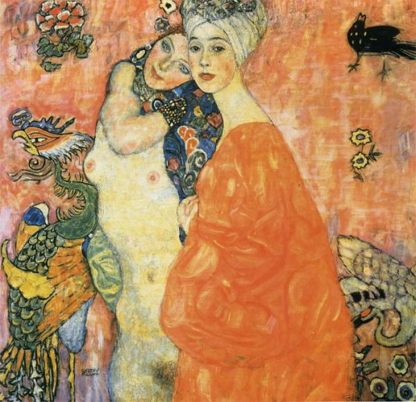 Klimt Oil Painting Reproductions- The Friends