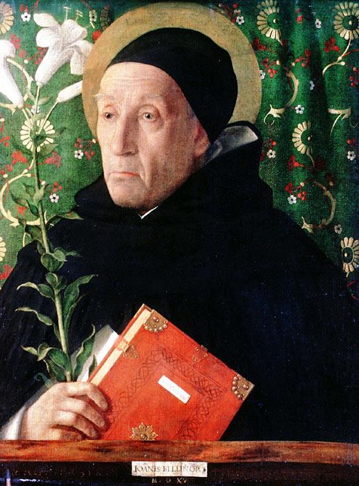 Oil Painting Reproduction of Bellini - Portrait of Fra Theodoro da Urbino