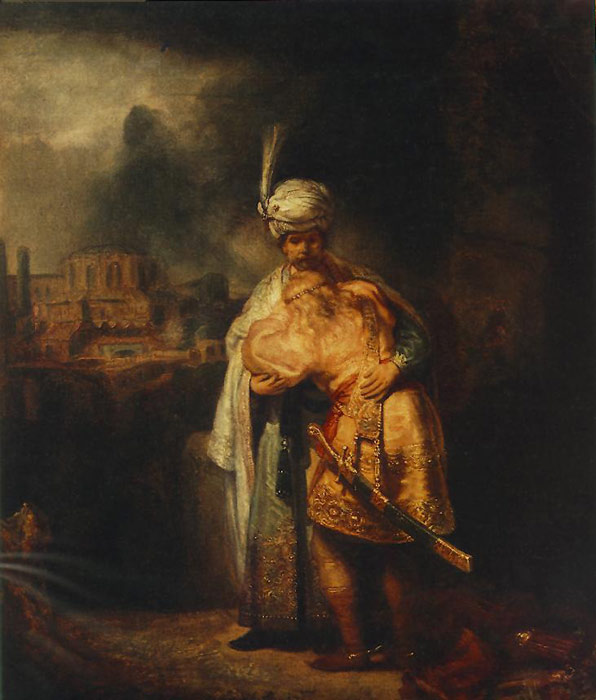 Rembrandt Oil Painting Reproductions- Biblical Scene