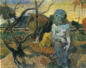 Gauguin Oil Painting Reproductions- The Idol