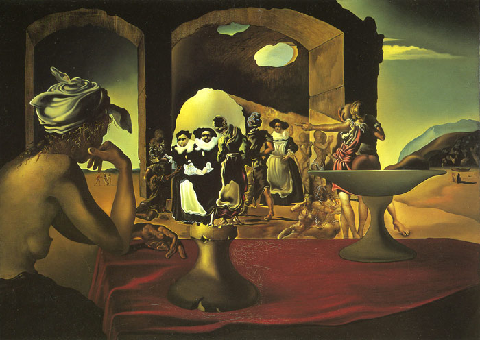 Dali Oil Painting Reproductions - Slave Market