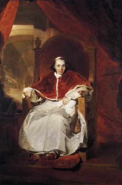 Lawrence Reproductions - Pope Pius VII