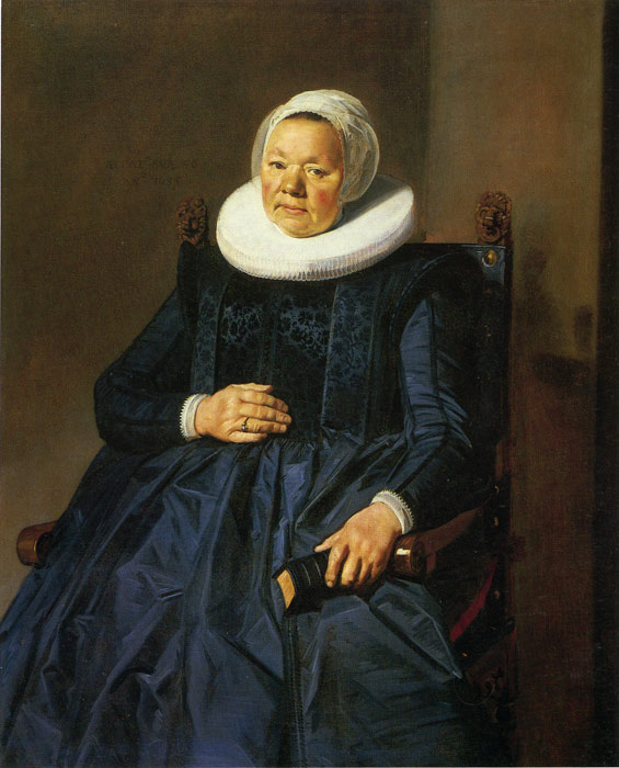 Hals Oil Painting Reproductions - Portrait of a Woman