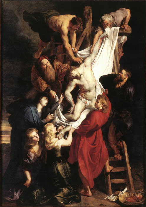 Rubens Oil Painting Reproductions- Descent from the Cross