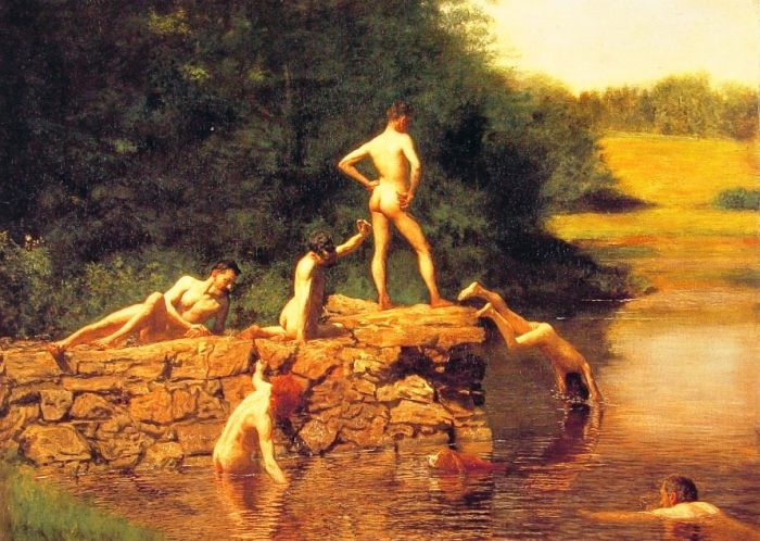 Eakins Reproductions - The Swimming Hole