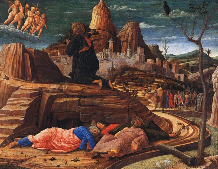 Oil Painting Reproduction of Mantegna- Agony in the Garden