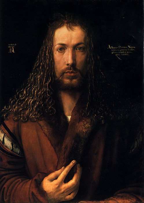 Durer Oil Painting Reproductions- Self Portrait