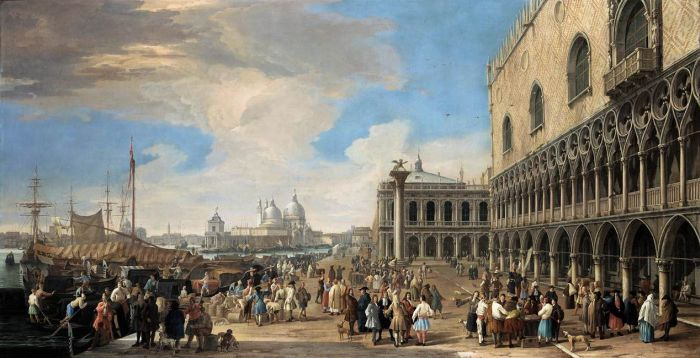 Carlevaris Reproductions - Venice: A View of the Molo