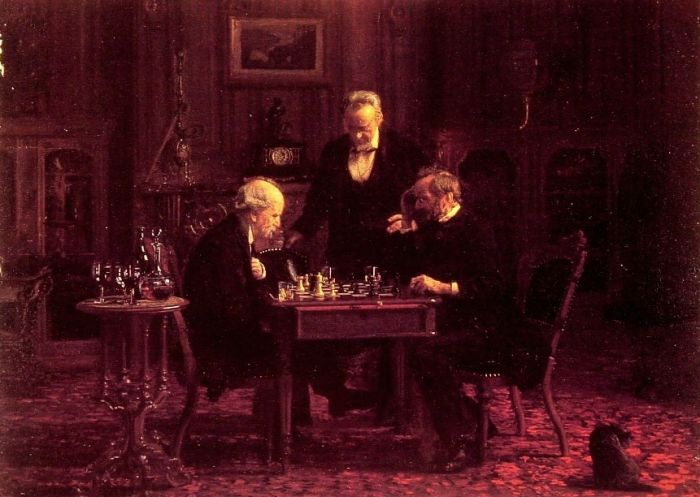 Eakins Reproductions - The Chess Players