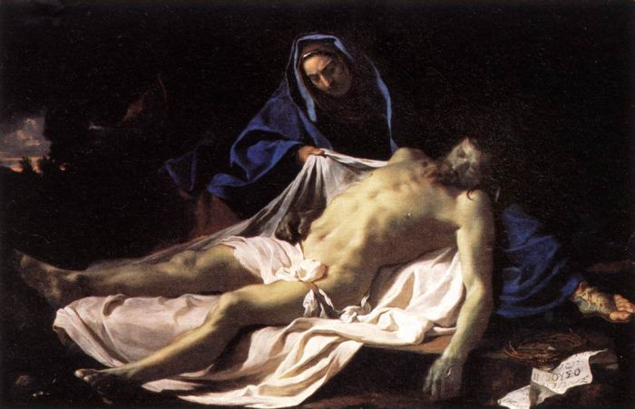 Le Brun Oil Painting Reproductions - Pieta