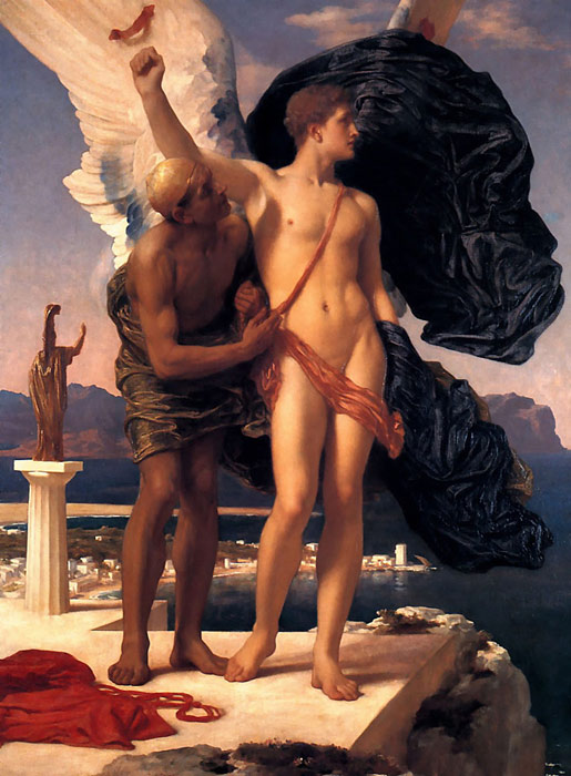 Leighton Oil Painting Reproductions- Daedalus and Icarus