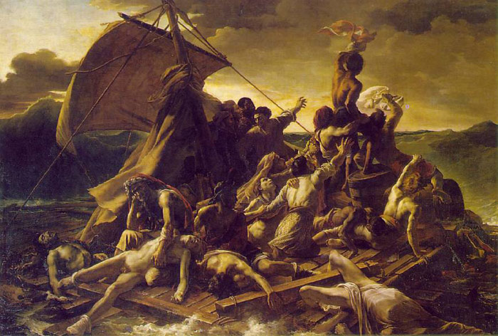 Oil Painting Reproduction of Gericault- The Raft of the Medusa