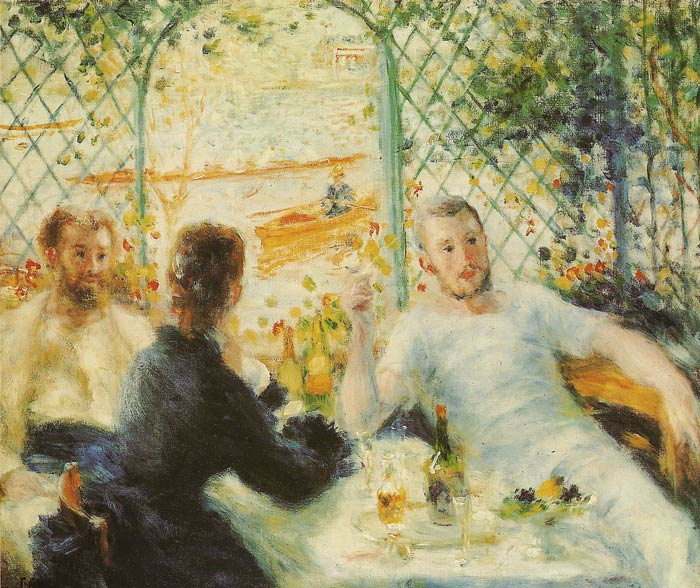 Renoir Oil Painting Reproductions- The Luncheon of the Boating Party