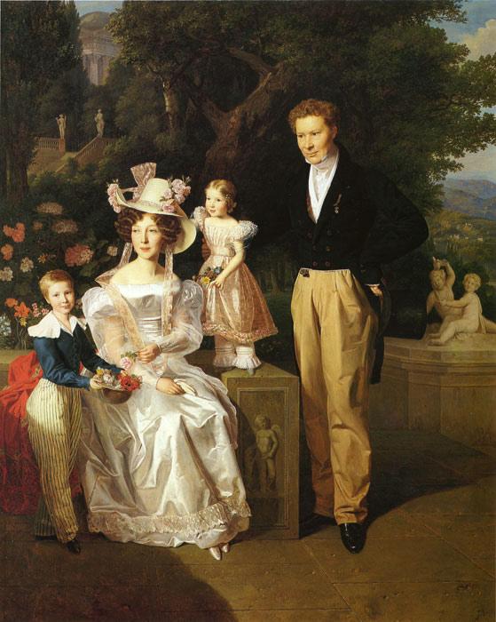 Waldmuller Oil Painting Reproductions- Theodor Joseph Ritter