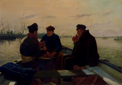 The Boatmen Of Barcelona