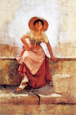 Florentine Flower Girl