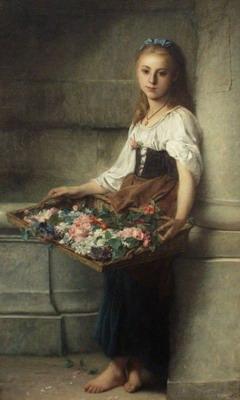 The flowerseller