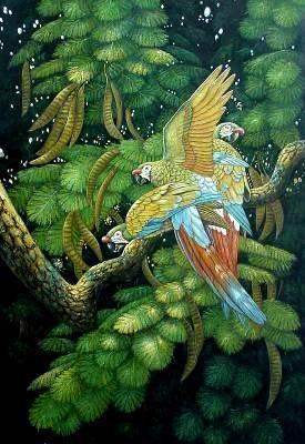 art oil paintings animal oil paintings Animal painting