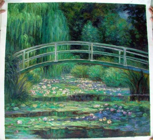 Flower Garden Oil Painting discount oil paintings Garden oil painting