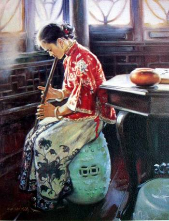 Oil painting company from China Wholesale Oil Painting china oil painting