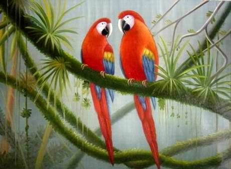 oil painting picture art oil paintings Animal painting