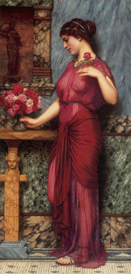 An Offering to Venus, John William Godward