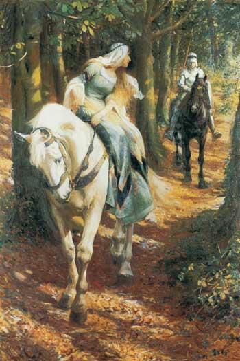 Enid and Geraint, Rowland Wheelwright