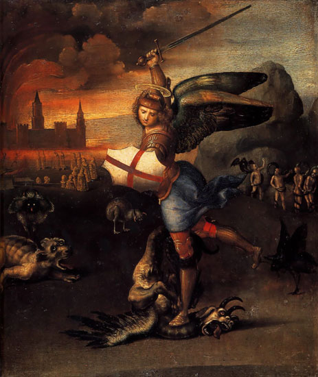 St. Michael and the Dragon, Raphael