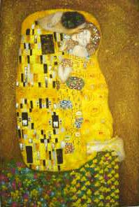Kiss 1907-08 Oil Painting Reproduction