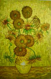 Sunflower (1888) van gogh paintings - van gogh art