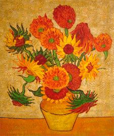 Sunflowers (1888)van gogh paintings - van gogh art