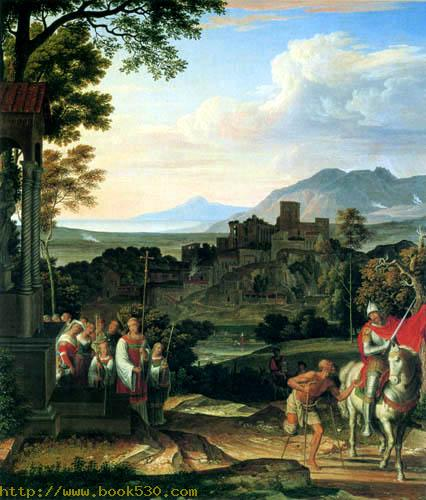 Landscape with St Martin