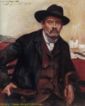 Selfportrait with a black hat