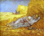 La Meridienne Vincent van Gogh Oil Painting