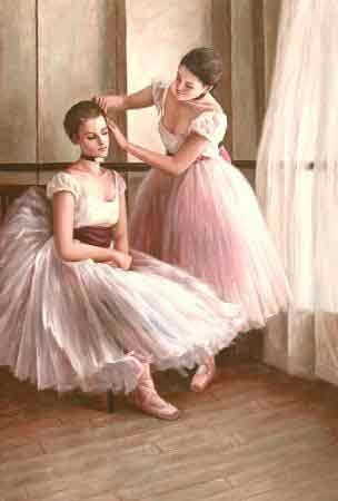 Oil painting for sale:Ballet_16