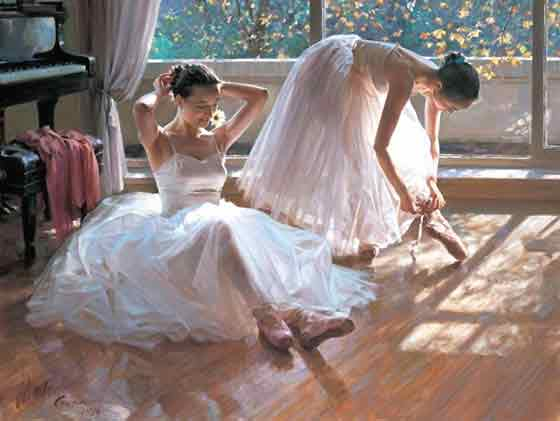 Oil painting for sale:Ballet_5