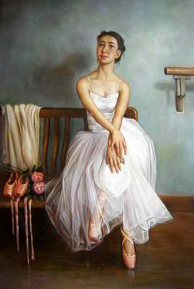 Oil painting for sale:Ballet_25