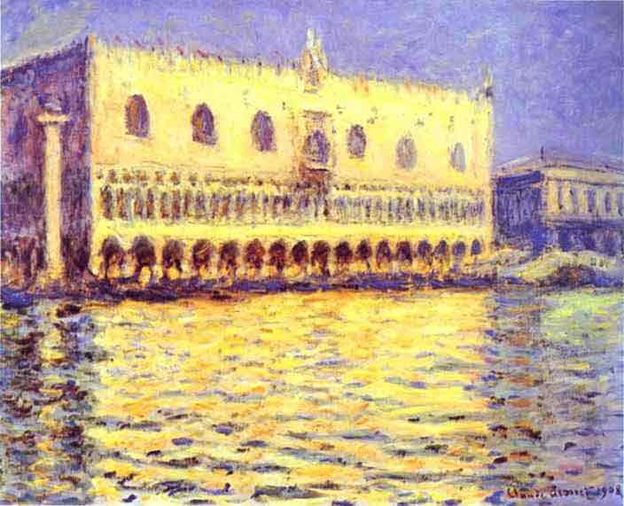 Venice. The Doge Palace 1908-1912.