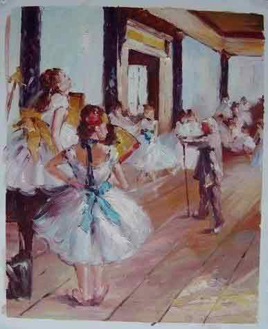 Oil painting for sale:Ballet_23