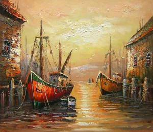 Oil painting for sale:Venice River