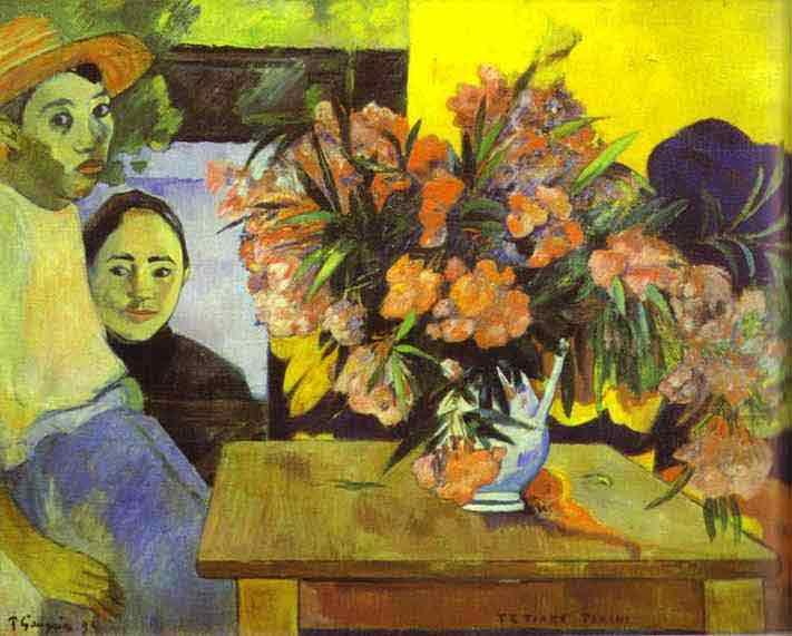 Te Tiare Farani (Bouquet of Flowers). 1893