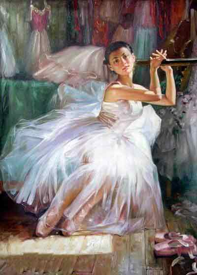 Oil painting for sale:Ballet_27