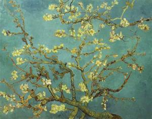 Oil painting for sale:Almond Blossom, 1890