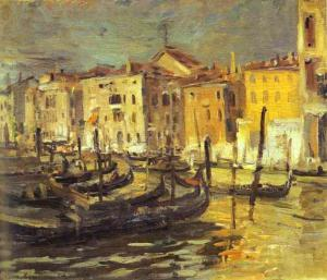 Oil painting: Venice. 1894