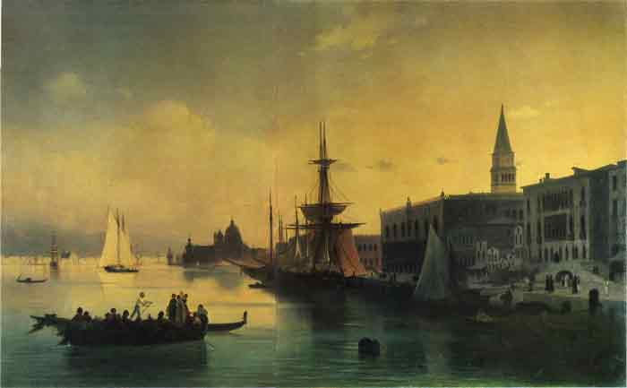 Oil painting for sale:Venice, 1842