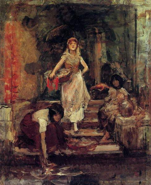 Venice - Washerwomen
