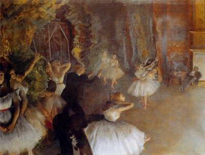 The Rehearsal Of The Ballet